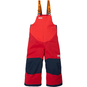 Helly Hansen Rider Insulated Bib Pants Kids, red